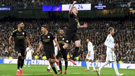 Em 5 minutos, City vira o jogo sobre o Real Madrid