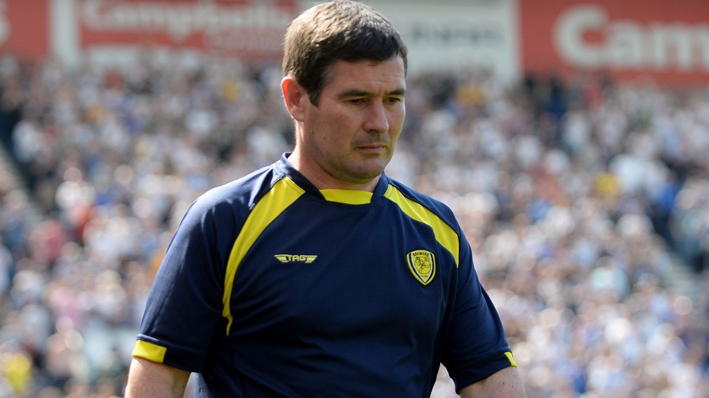 NIGEL CLOUGH : Ready to pit wits with Pep