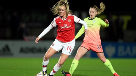 Conti Cup highlights: Arsenal 2-1 City
