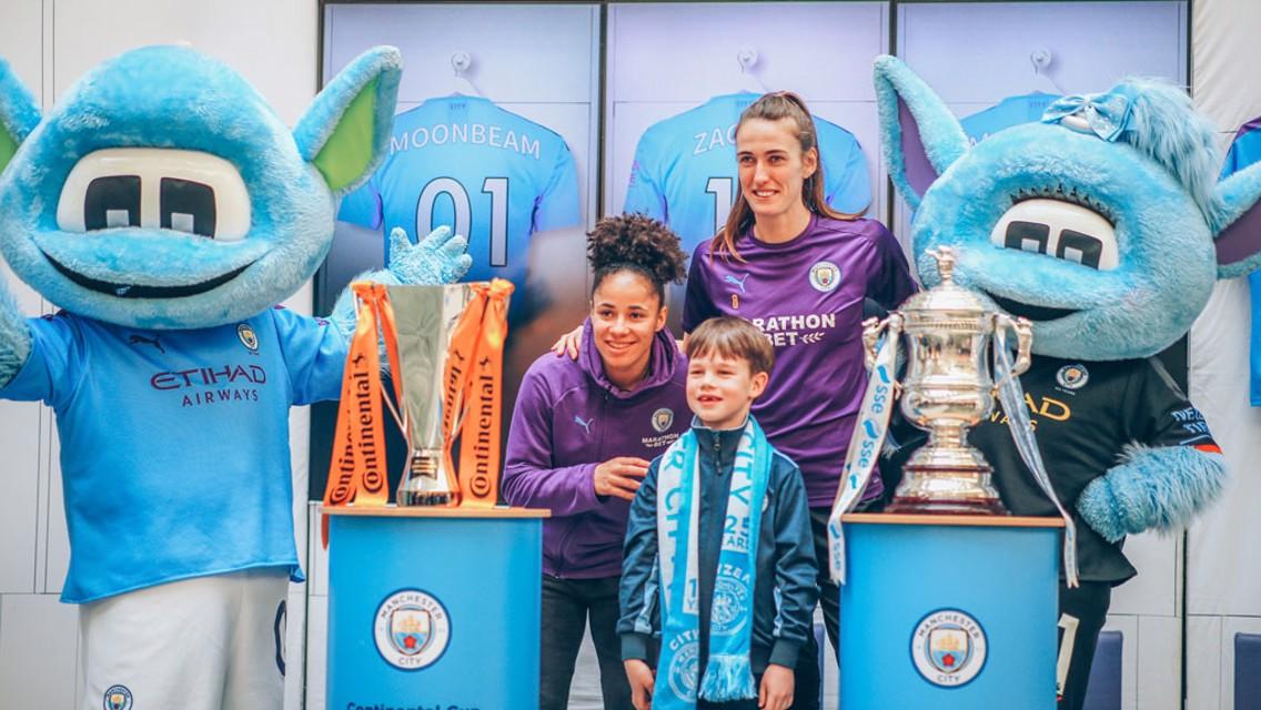 Jill Scott and Demi Stokes meet fans at Manchester Arndale