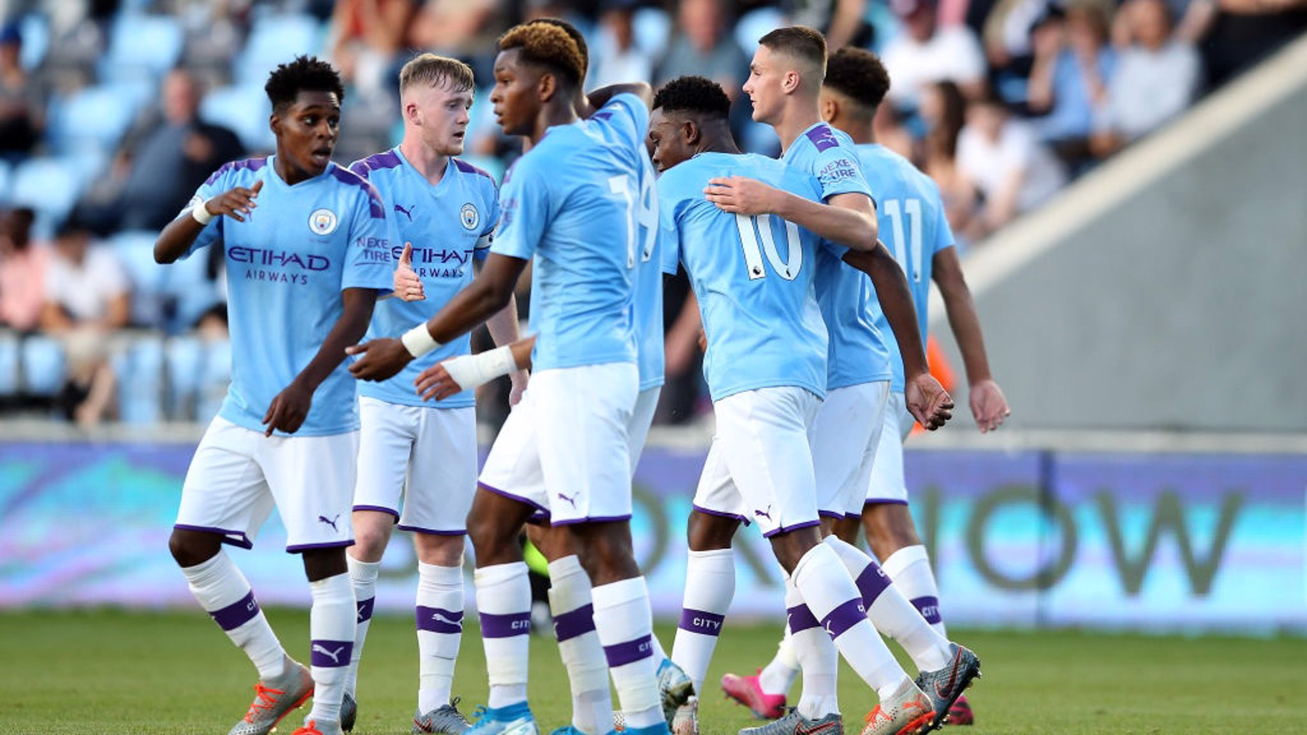 UP AND RUNNING: City EDS have their first win of the season
