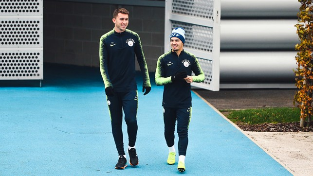 START THE WEEK : Aymeric Laporte and Brahim Diaz prepare ahead of another busy week
