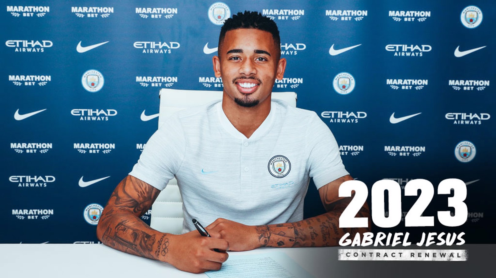 SIGNED UP: Gabriel Jesus