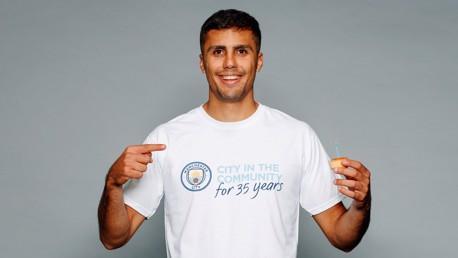 Rodrigo helps celebrate CITC's 35th birthday