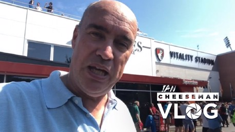 Bournemouth 1-3 City: Ian Cheeseman vlog