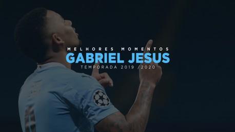 Os melhores momentos do Gabriel Jesus em 2019/20