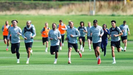 Treinamento: Jogadores brasileiros retornam aos treinos