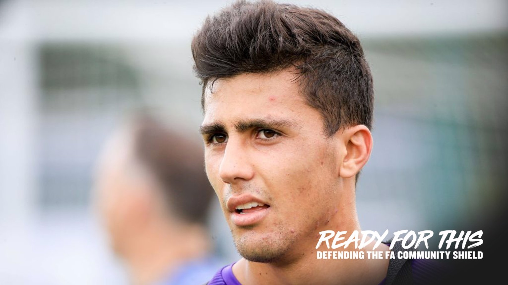 WEMBLEY STARTER: Rodri will make his Manchester City debut in the Community Shield.