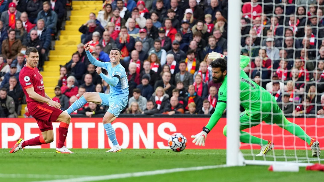 Gallery: City earn point in pulsating Liverpool clash