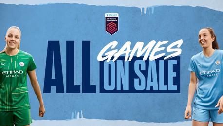 Women's match tickets: On sale now