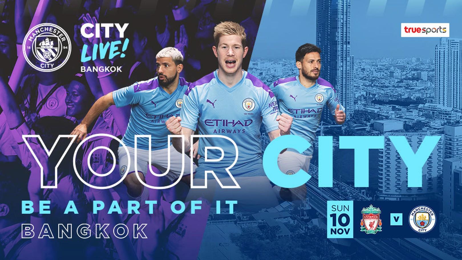 City Live! set for Bangkok