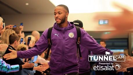 City – Aston Villa: desde el túnel