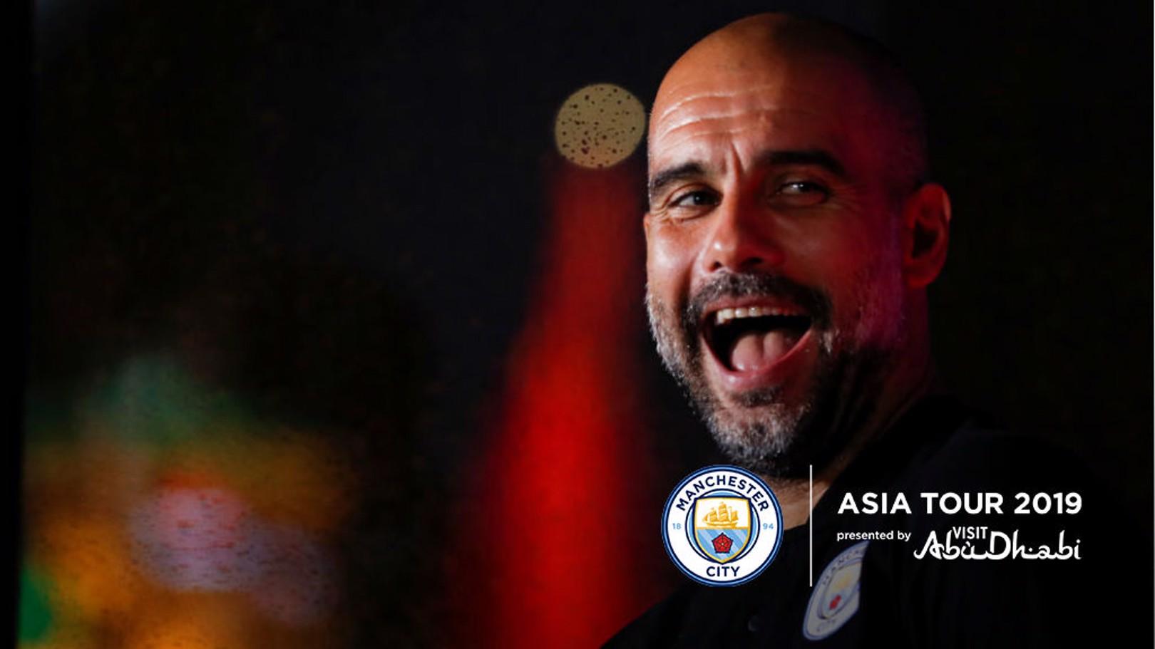 Guardiola: 'Tur Asia pengalaman yang luar biasa'