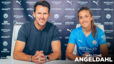 Angeldahl excited to face 'next step' in her career