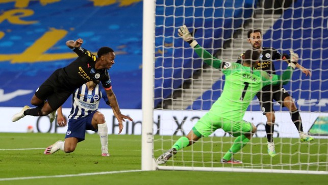 BRACE FOR LANDING: Sterling heads home is second