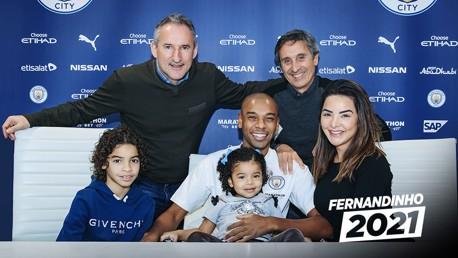 Fernandinho: His City career so far...