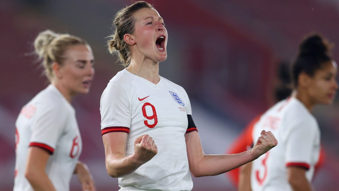White at the double as Lionesses hit North Macedonia for eight