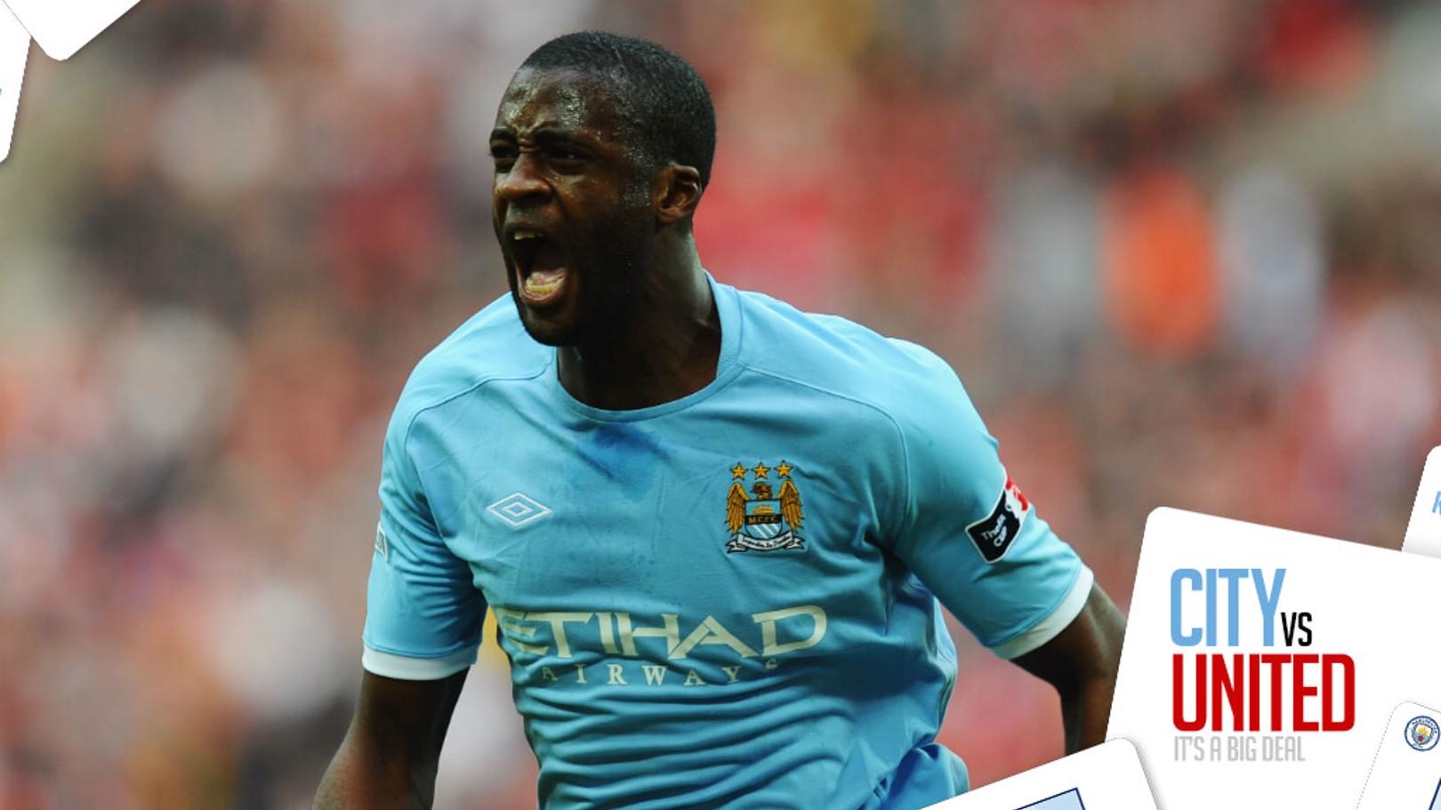 YAYA, YAYA TOURE: The Ivorian bagged the winner at Wembley in the 2011 FA Cup Semi-Final...