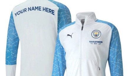 Cityzens Giving for Recovery: win your name on a player's matchday jacket!