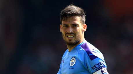 400 NOT OUT: David Silva made his 400th appearance for City.