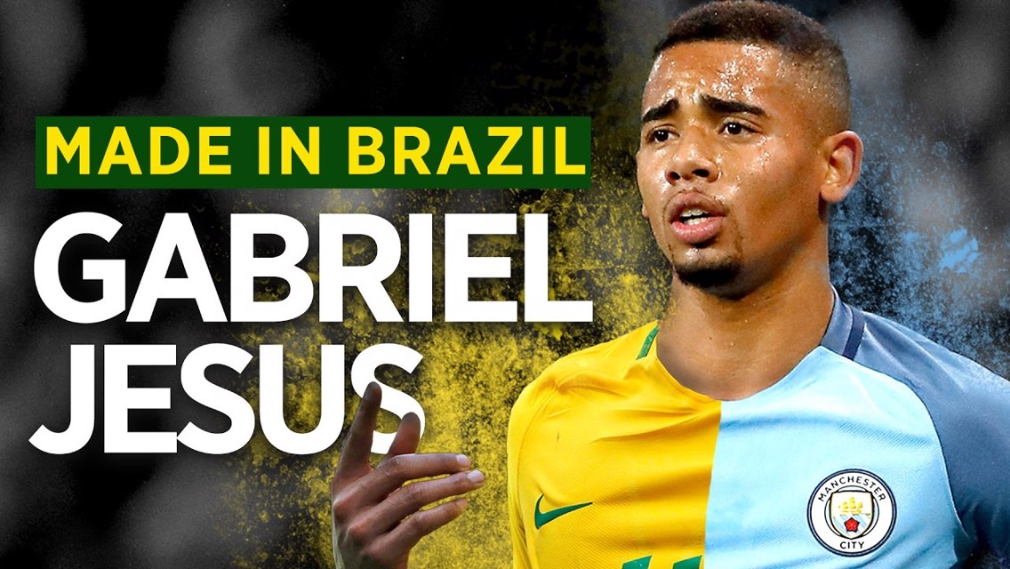 Gabriel Jesus: Made in Brazil