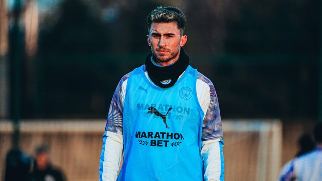 BACK IN THE G-AYM : Great to see Aymeric Laporte nearing a return to fitness!
