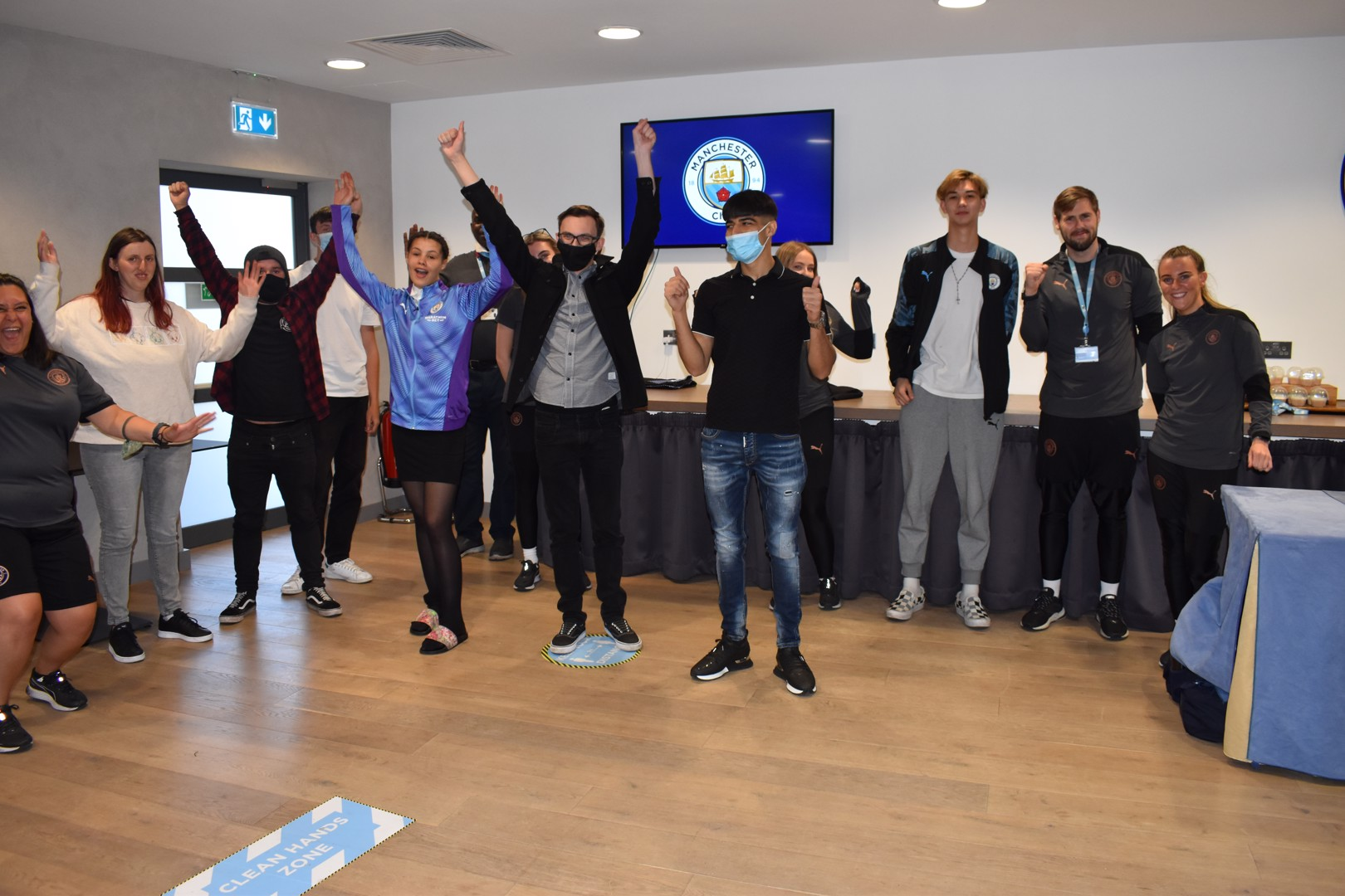 CITC Graduate 10 Young People on City Careers Programme