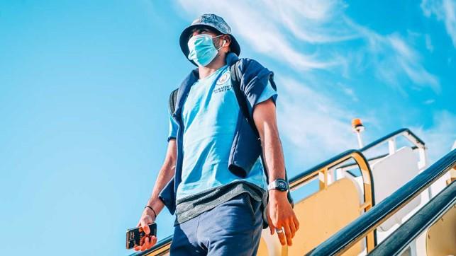 HAT-TRICK HERO : Riyad Mahrez, looking cool as ever