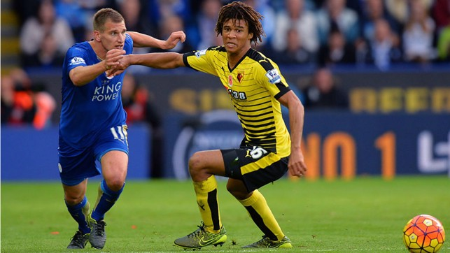 : ACTION MAN: Nathan also spent time with Watford on loan during 2015