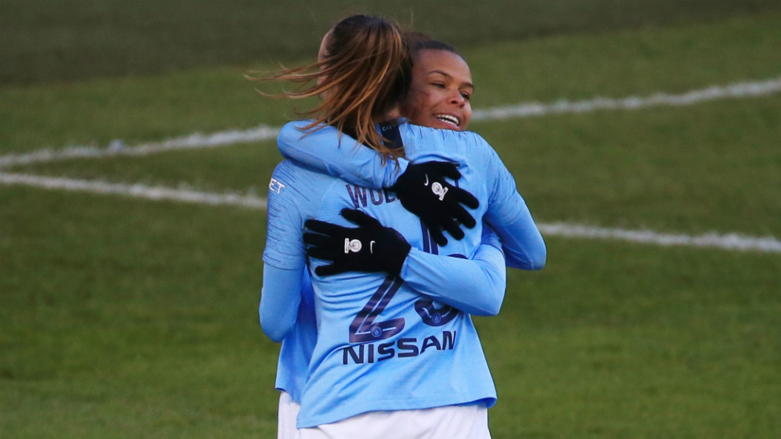 PARRIS LIFE: Another game, another goal for Nikita Parris!