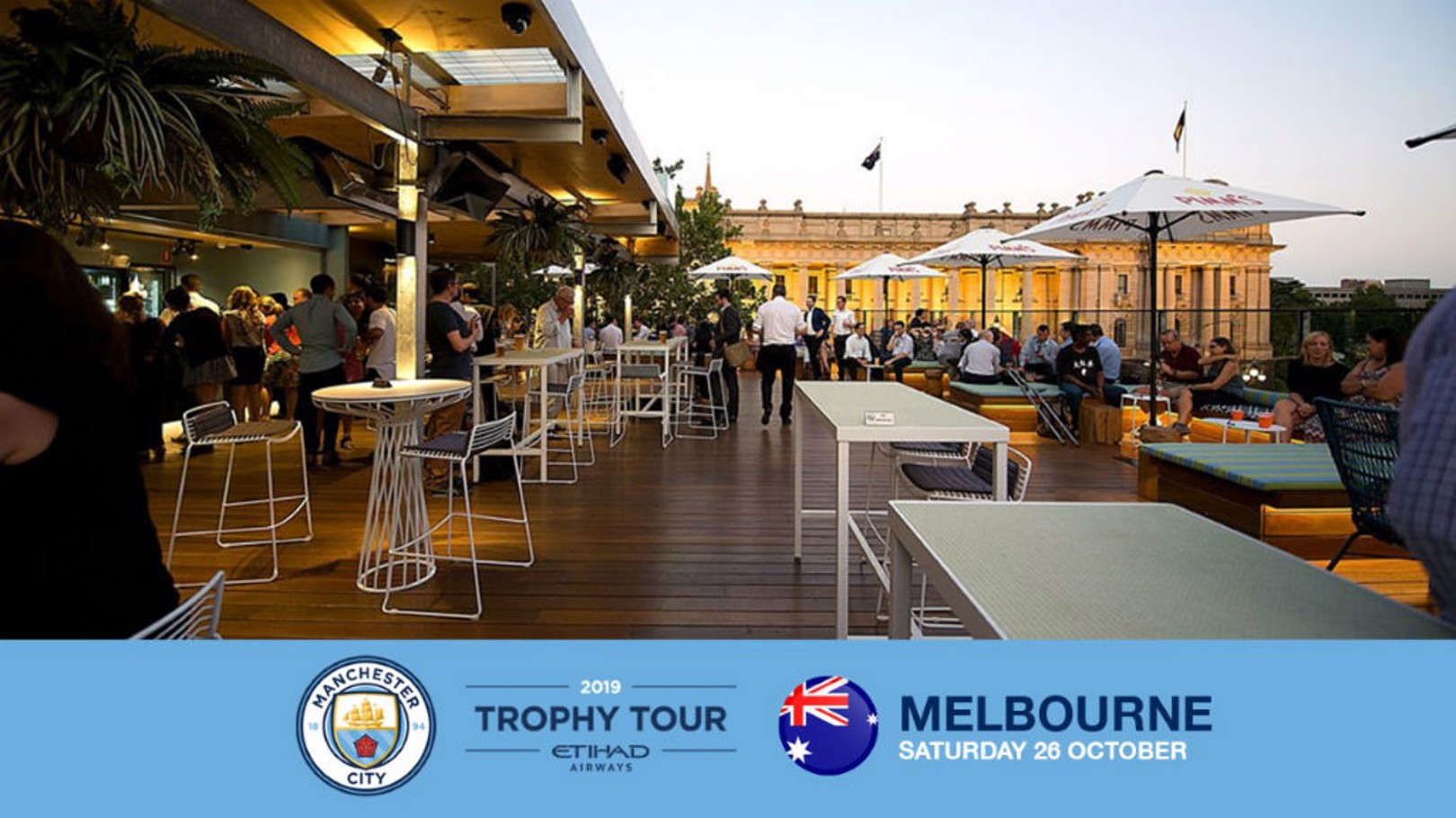 TROPHY TOUR: Get your hands on some silverware in Melbourne!