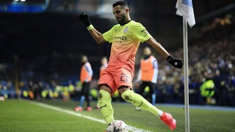 "Mahrez: ""Same focus for Sheffield Wednesday as we had for Madrid."""