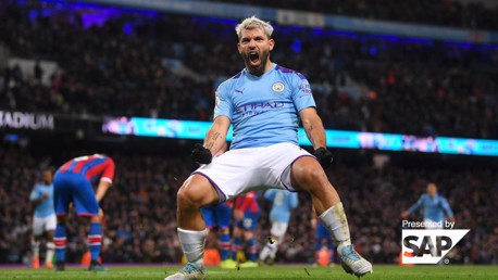 The stat ranking Sergio Aguero ahead of the Premier League's top goalscorers