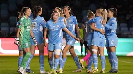 Bunny hits a hat-trick as City reach FA Cup last four