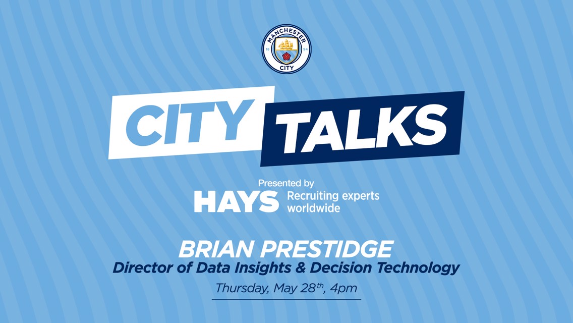 CITY TALKS: Brian Prestidge