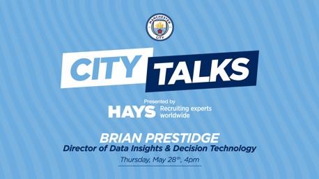 CITY TALKS: Brian Prestidge