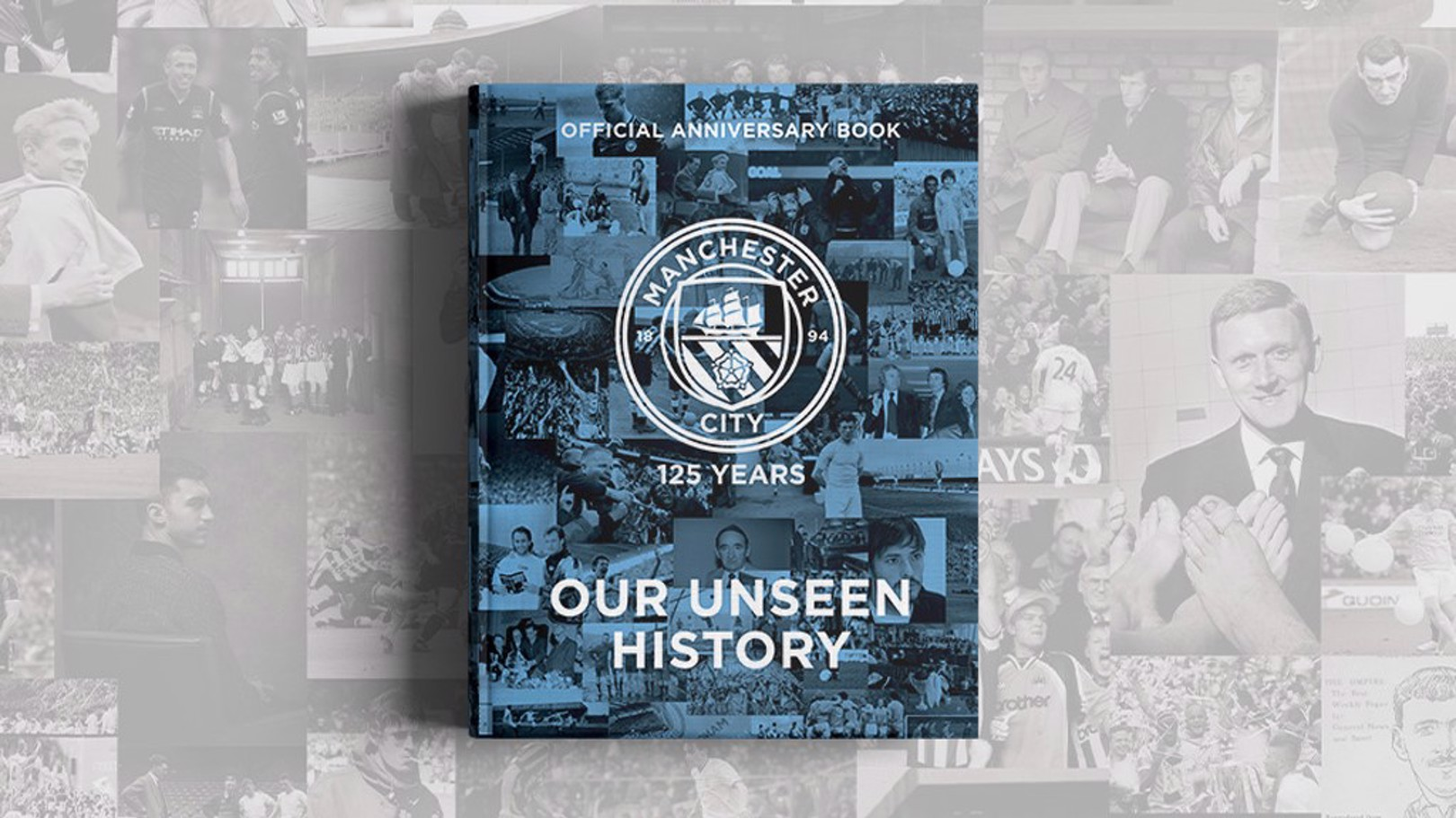 Unseen history:  125 anniversary book now on sale!