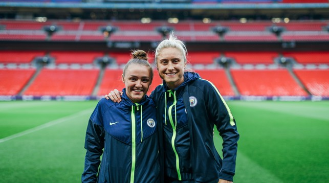 STAGE : Georgia and Steph deserve to be on the biggest stage in football - as do all our team