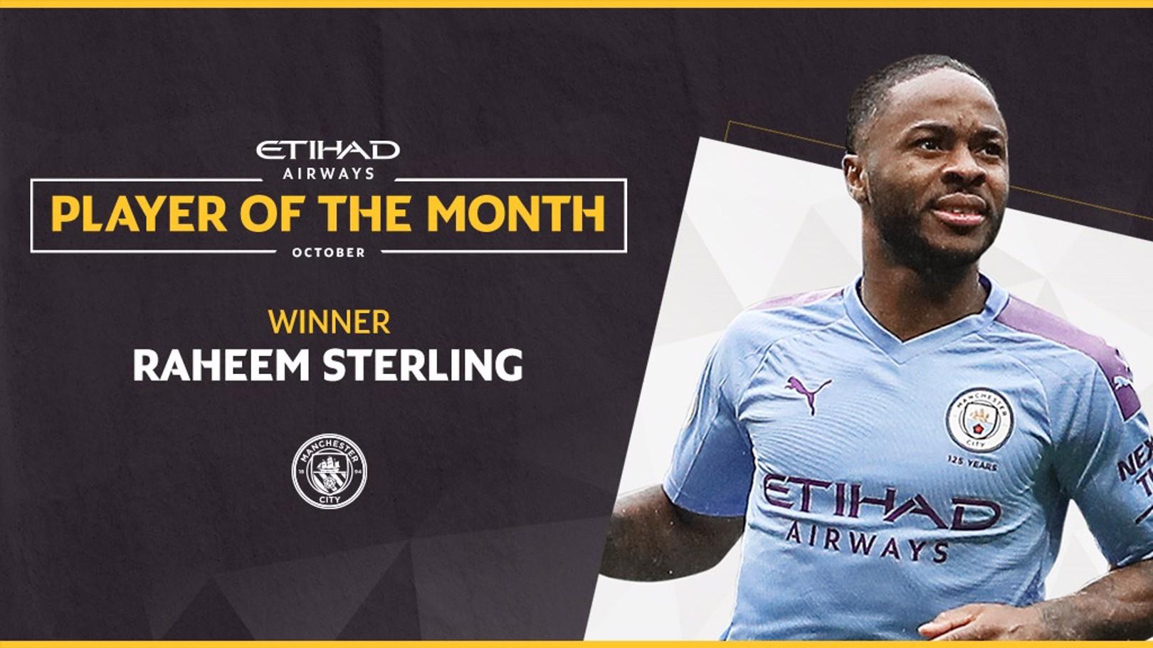 Inilah Etihad Player Of The Month Bulan Oktober