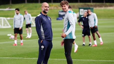 City v Burnley: Stones set for first appearance of the season