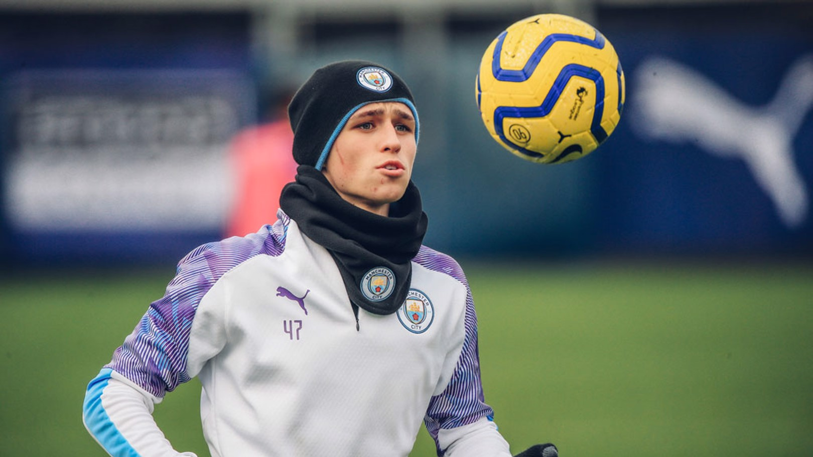 FANTASTIC MR FODEN: Eyes on the ball, Phil!