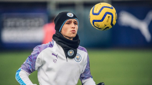 FANTASTIC MR FODEN : Eyes on the ball, Phil!