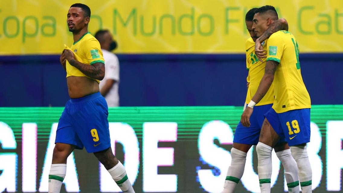Gabriel Jesus and Ederson feature as Brazil beat Uruguay