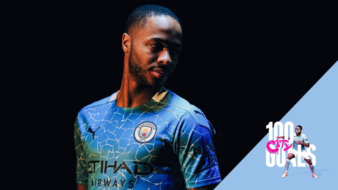 Sterling clocks up century of City goals