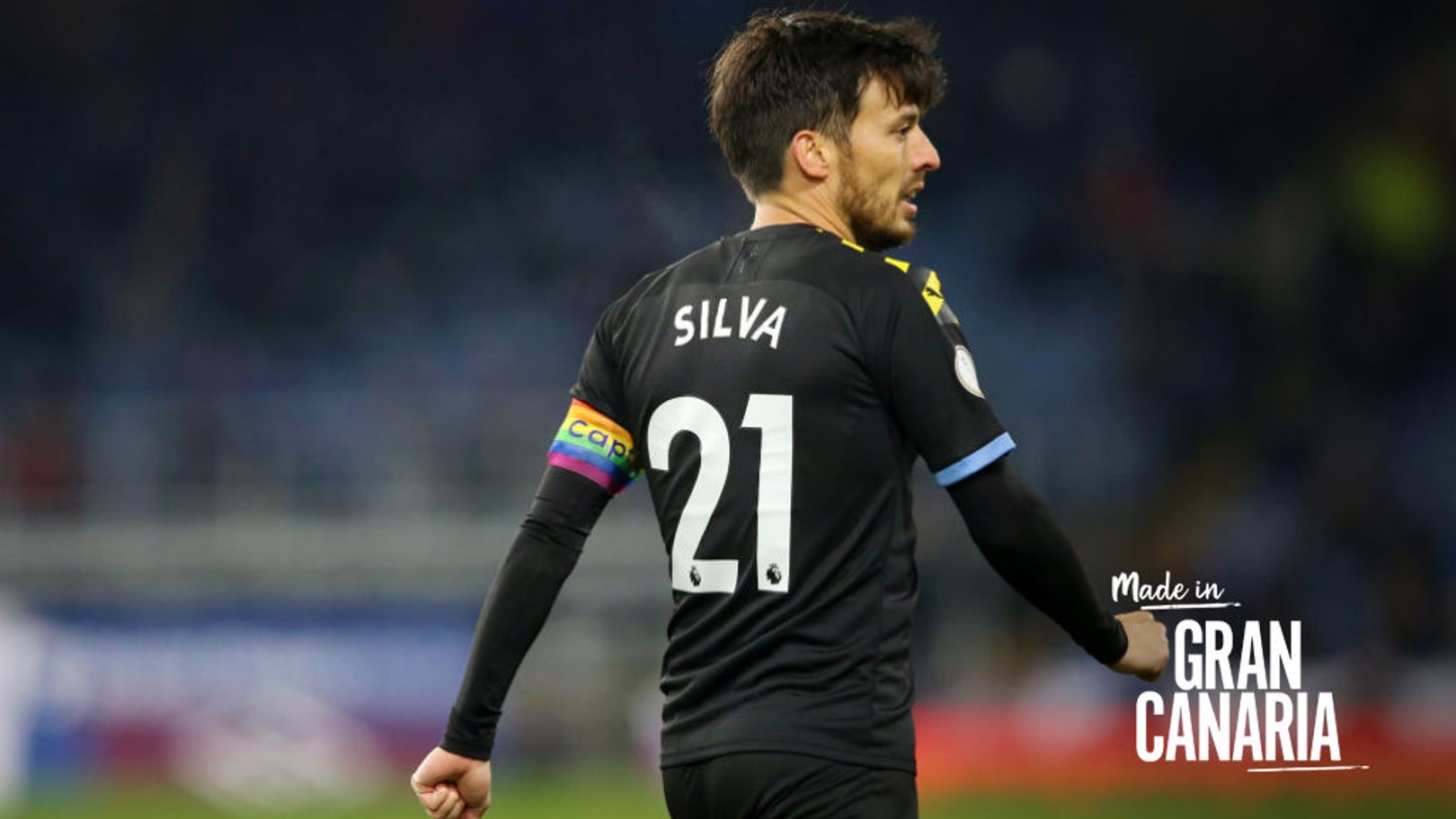 MADE IN GRAN CANARIA: Silva has revealed how he started wearing the No. 21 shirt