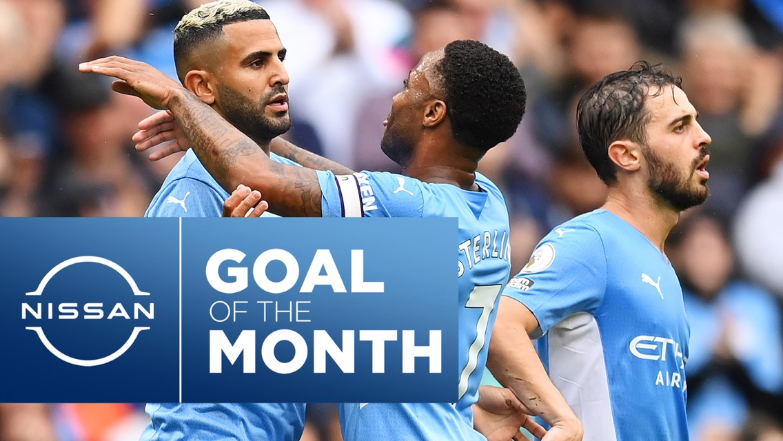 Nissan Goal of the Month: August vote now open
