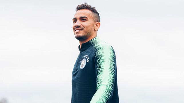 DAN THE MAN : Danilo smiles for the camera
