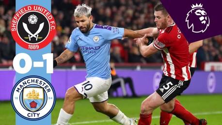 Sheff Utd 0-1 City: Full match replay