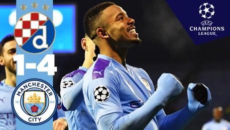 Dinamo Zagreb 1-4 City: Full match replay