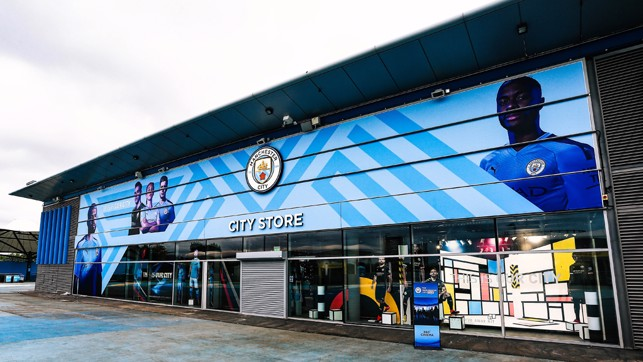 NEW LOOK : Both the interior and exterior of the City Store have been updated